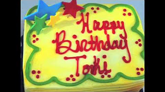 birthday cake for toki