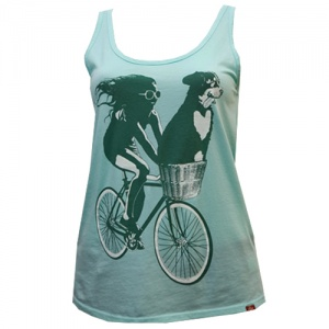 Freaky Dog People Love Ride Tank Top