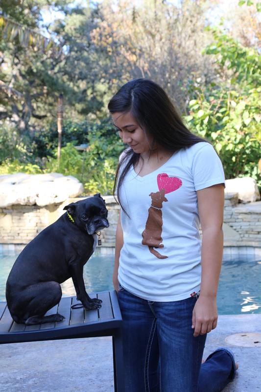 Freaky Dog People Dog Heart Tee