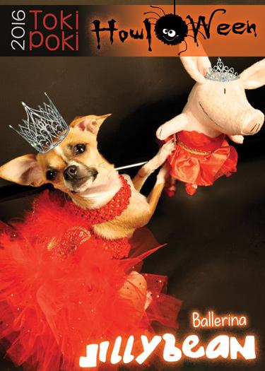 Jillybean Toki Poki Howl-O-Ween Pet Trading Card