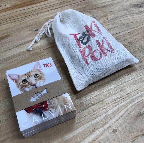 Feline Pet Trading Card Packaging