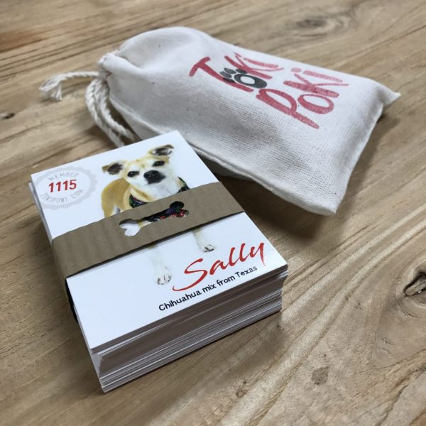 Canine Pet Trading Card Packaging