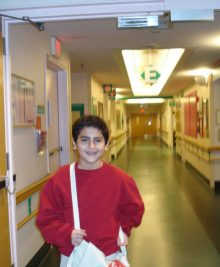 Ryan at Hasbro Children's Hospital
