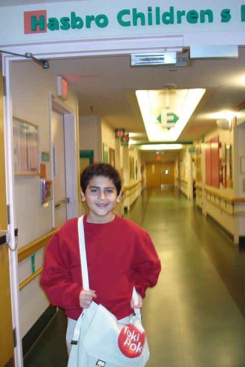 Ryan at Hasbro Children's Hospital