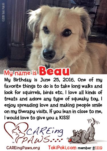 Beau (member #1119)