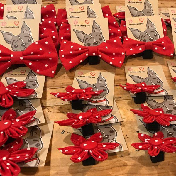Paw Print Styles Bowties