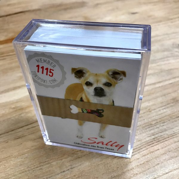 Toki Poki Trading Cards Hard Case