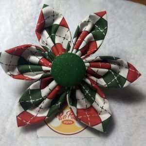 Paw Print Styles Holiday Flower
