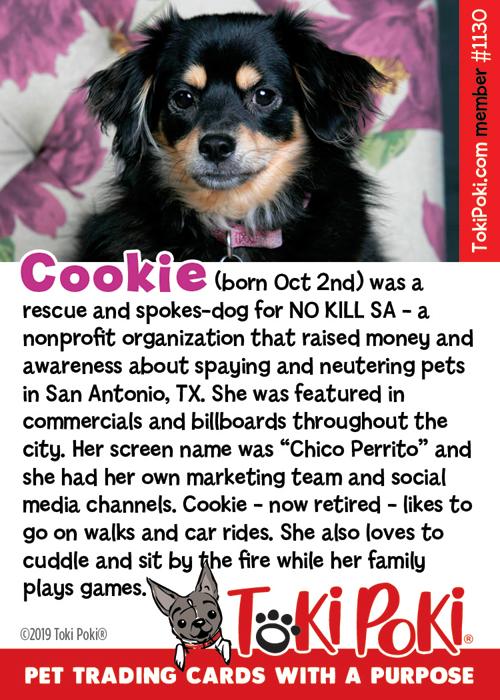 Cookie (Member #1130)