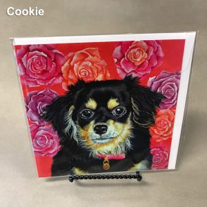 Cookie - Elizabeth Elequin Art Greeting Cards