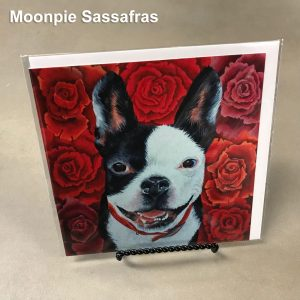 Moonpie Sassafras - Elizabeth Elequin Art Greeting Cards