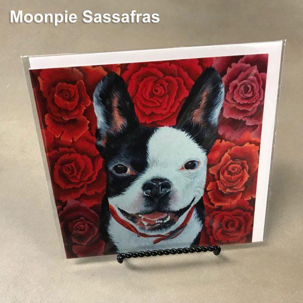 Moonpie Sassafras - Elizabeth Elequin Art Greeting Cards
