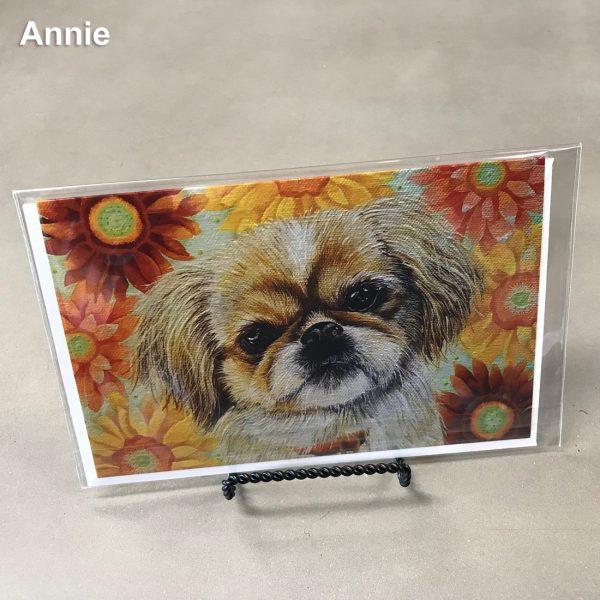 Annie - Elizabeth Elequin Art Greeting Cards