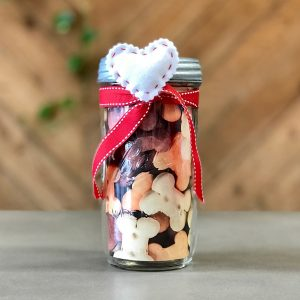 Mason Jar w/ Magnetic Detachable Heart