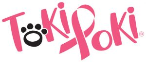 Toki Poki Breast Cancer Awareness Sticker