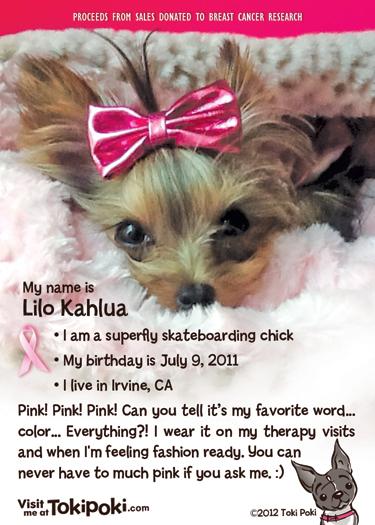 Lilo Kahlua Pink Pack